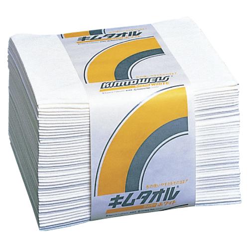日本製紙クレシア キムタオルホワイト 規格:4つ折 入数:50枚×24束/ケース 61011【送料無料】