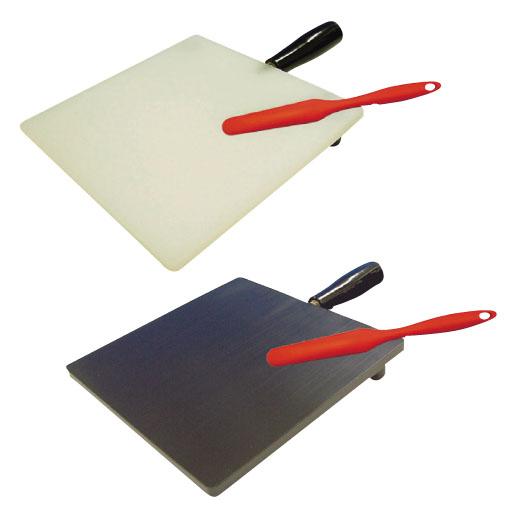 大同化工 軟膏板 まぜるん台 規格:小 カラー:黒 サイズ(板面):200×200【送料無料】