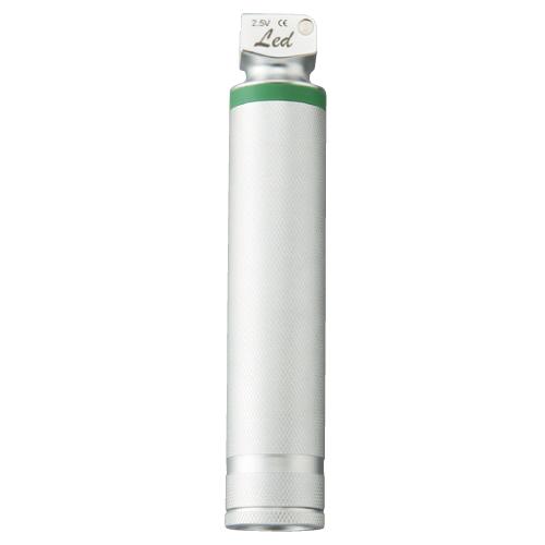 メドライフ ファイバー式喉頭鏡 ハンドル(LEDランプ付) 規格:レギュラー(大) サイズ:H150【送料無料】【S1】