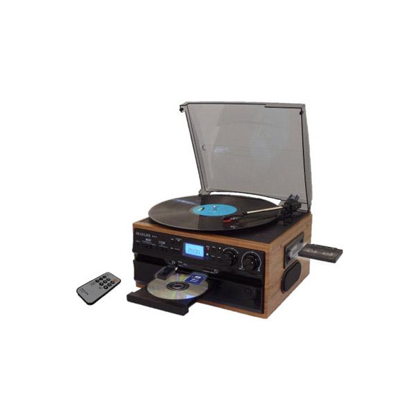 DEARLIFE レコード/CD/ラジオ&カセット搭載多機能プレーヤー RTC-29【送料無料】