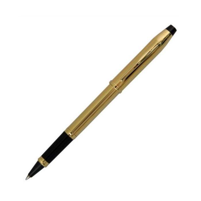 CROSS クロス センチュリ- 4504 10金張 セレクチップロ-ラ-ボ-ル水性 筆記具【送料無料】