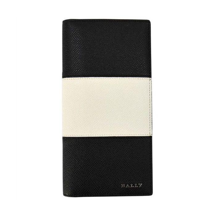 BALLY バリー LALIRO BOLD カラー00 BLACK 6205510 二つ折り長財布(ファスナー小銭入れ有) ブランド財布 プレゼント ギフト【送料無料】