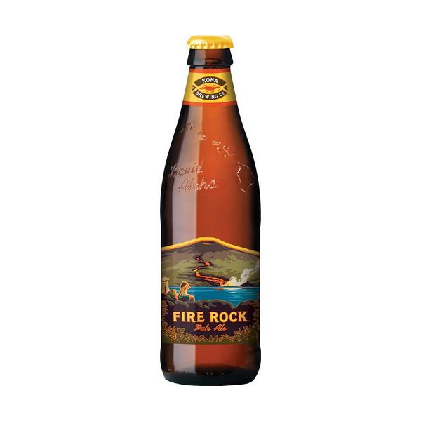 ファイアロック ペールエール【355ml 瓶 24本入】 コナビール Fire Rock PaleAle Kona Beer (黄)【送料無料】