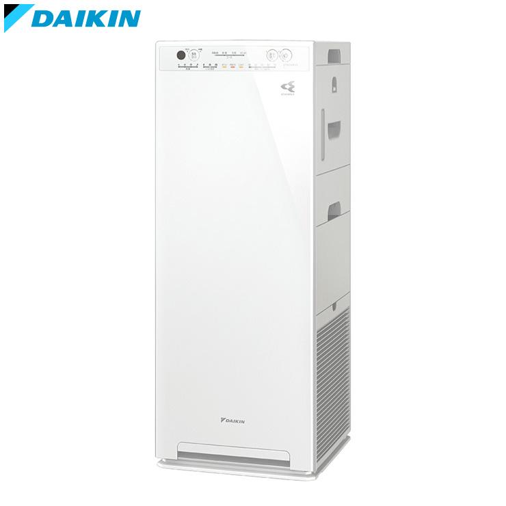 ダイキン 加湿ストリーマ空気清浄機 ACK55W-W ホワイト 空気清浄機 空調 加湿器 花粉対策【送料無料】