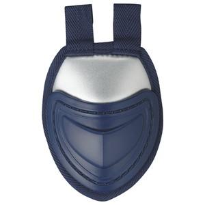 お買い物マラソン NEW ZETT ゼット BLM3A スロートガード ソフト兼用 硬式 特価品コーナー☆ ネイビー×シルバー 軟式