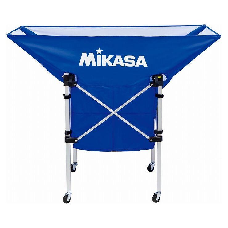 ミカサ(MIKASA) MIKASA ミカサ 携帯用折り畳み式ボールカゴ(舟型) ブルー ACBC210BL【送料無料】