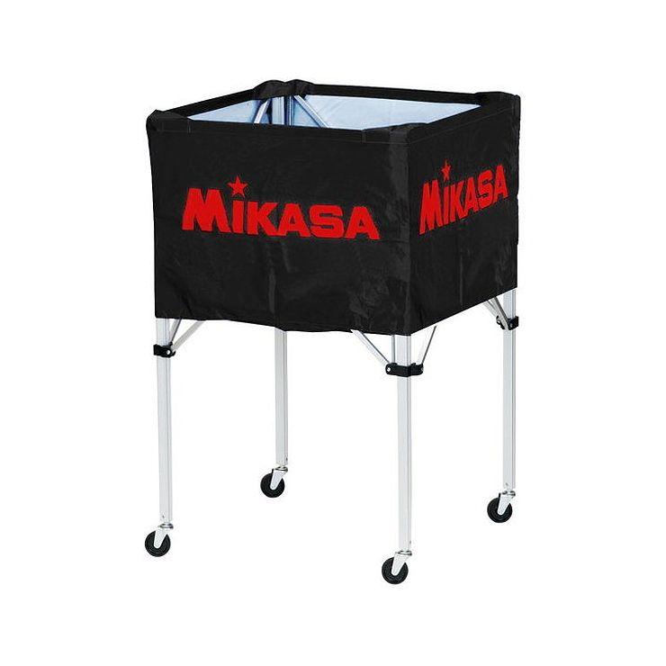ミカサ(MIKASA) 器具 ボールカゴ 箱型・大(フレーム・幕体・キャリーケース3点セット) BCSPH 【カラー】ブラック【送料無料】