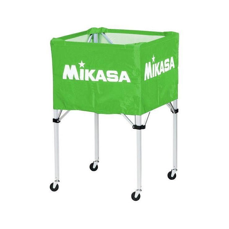 ミカサ(MIKASA) 器具 ボールカゴ 箱型・大(フレーム・幕体・キャリーケース3点セット) BCSPH 【カラー】ライトグリーン【送料無料】