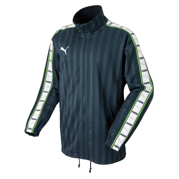 PUMA(プーマ) サッカー (P11216)トレーニングジャケット 862216 Mナイトネイビー/WH 91【送料無料】