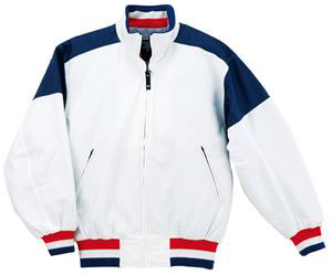デサント(DESCENTE) グランドコート DR202 WNV ホワイト×ネイビー【送料無料】