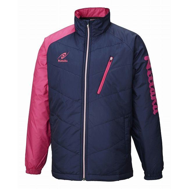 ニッタク 卓球アパレル HOT WARMER ANV SHIRT(ホットウォーマーANVシャツ)男女兼用 NW2850 【カラー】ピンク 【サイズ】SS【送料無料】