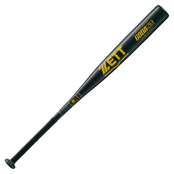 ZETT 硬式金属製バット ゴーダST 84cm BAT13684  ブラック 1900