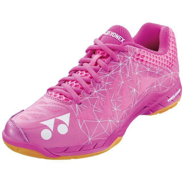 ヨネックス バドミントンシューズ POWER CUSHION AERUS 2 SHBA2L 【カラー】ピンク 【サイズ】24.5【送料無料】