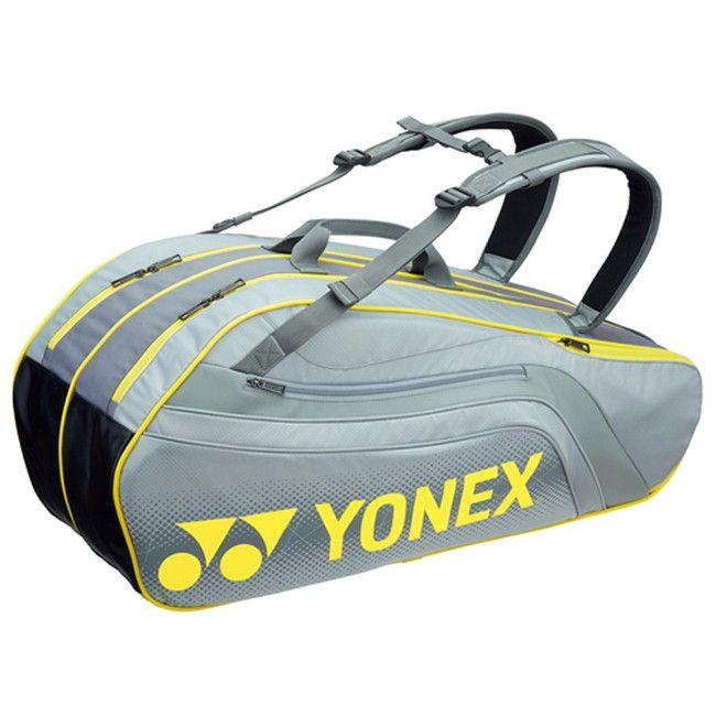 Yonex(ヨネックス) TOURNAMENT SERIES ラケットバック6 リュック付き(ラケット6本用) BAG1812R 【カラー】グレー【送料無料】