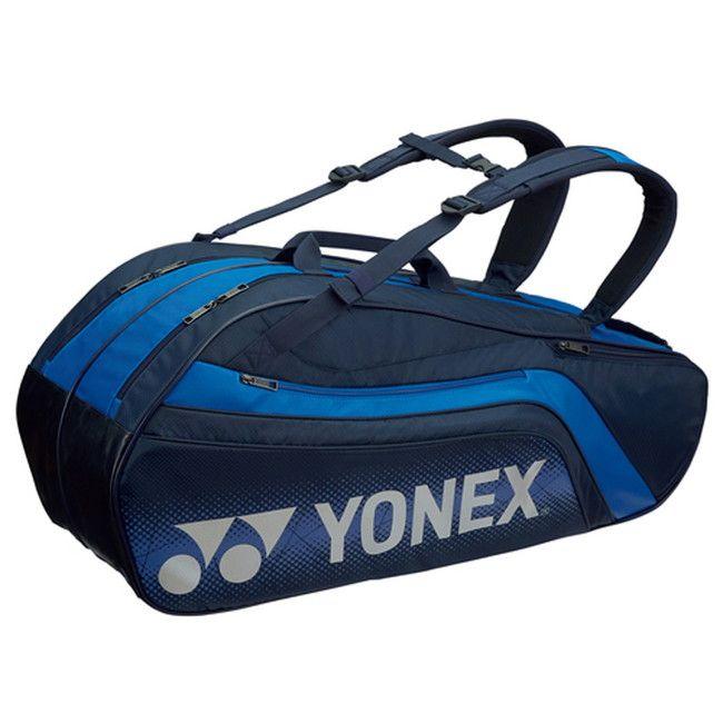 Yonex(ヨネックス) TOURNAMENT SERIES ラケットバック6 リュック付き(ラケット6本用) BAG1812R 【カラー】ネイビーブルー【送料無料】