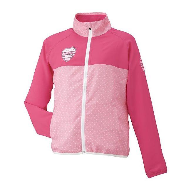 GOSEN(ゴーセン) レディースライトウィンドジャケット UY1501 【カラー】ミストピンク 【サイズ】M