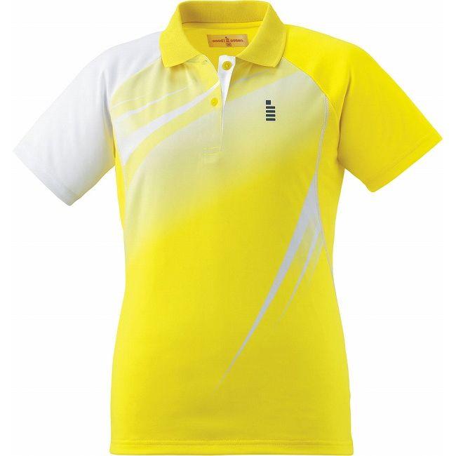 【送料無料】GOSEN(ゴーセン) T1601 レディースゲームシャツ T1601 【カラー】イエロー 【サイズ】XL GOSEN(ゴーセン) T1601 レディースゲームシャツ T1601 【カラー】イエロー 【サイズ】XL【送料無料】