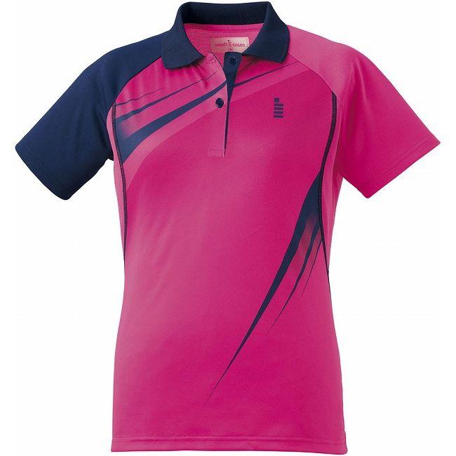 【送料無料】GOSEN(ゴーセン) T1601 レディースゲームシャツ T1601 【カラー】ピンク 【サイズ】XL GOSEN(ゴーセン) T1601 レディースゲームシャツ T1601 【カラー】ピンク 【サイズ】XL【送料無料】