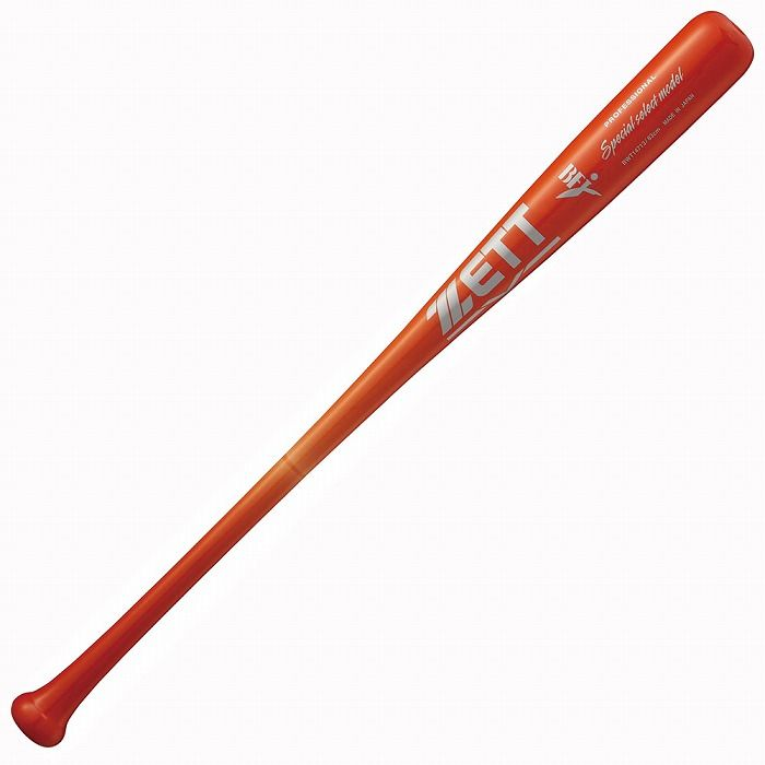 ZETT(ゼット) 硬式木製バット スペシャルセレクトモデル 83cm880g平均 BWT14713 【カラー】ライトレッド【送料無料】