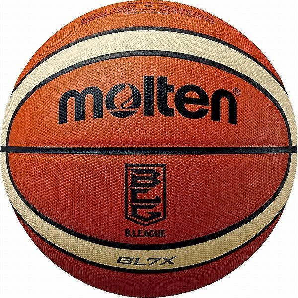 モルテン(Molten) バスケットボール7号球 GL7X(Bリーグ公式試合球) 国際公認球・JBA検定球 BGL7XBL【送料無料】