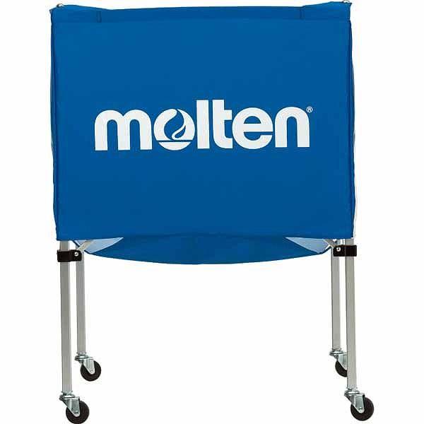 モルテン(Molten) 折りたたみ式ボールカゴ(中・背低) 青 BK20HLB【送料無料】