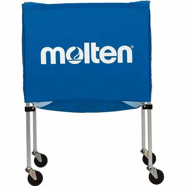 モルテン(Molten) 折りたたみ式ボールカゴ(屋外用) 青 BK20HOTB【送料無料】