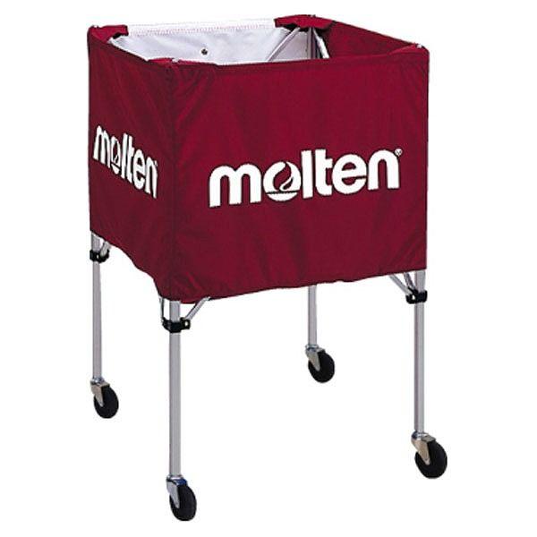 モルテン(Molten) 折りたたみ式ボールカゴ(屋外用)エンジ BK20HOTE【送料無料】