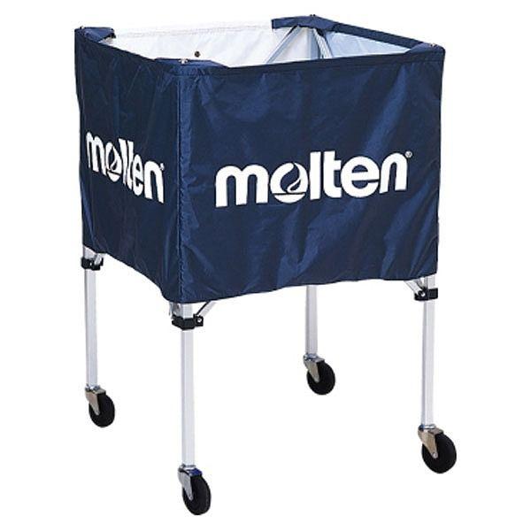 モルテン(Molten) 折りたたみ式ボールカゴ(屋外用)ネイビー BK20HOTNV【送料無料】