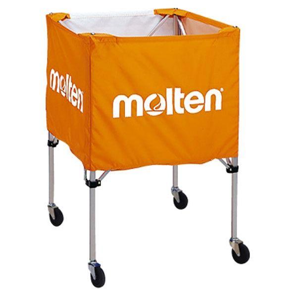 モルテン(Molten) 折りたたみ式ボールカゴ(屋外用)オレンジ BK20HOTO【送料無料】