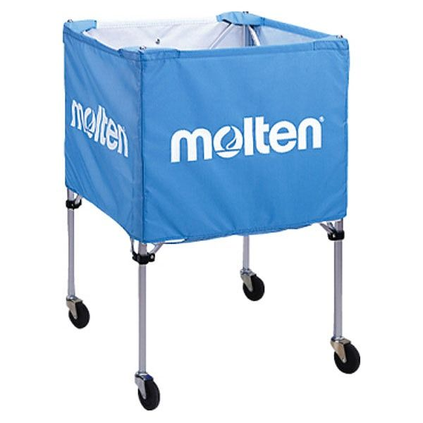 モルテン(Molten) 折りたたみ式ボールカゴ(屋外用)サックス BK20HOTSK【送料無料】