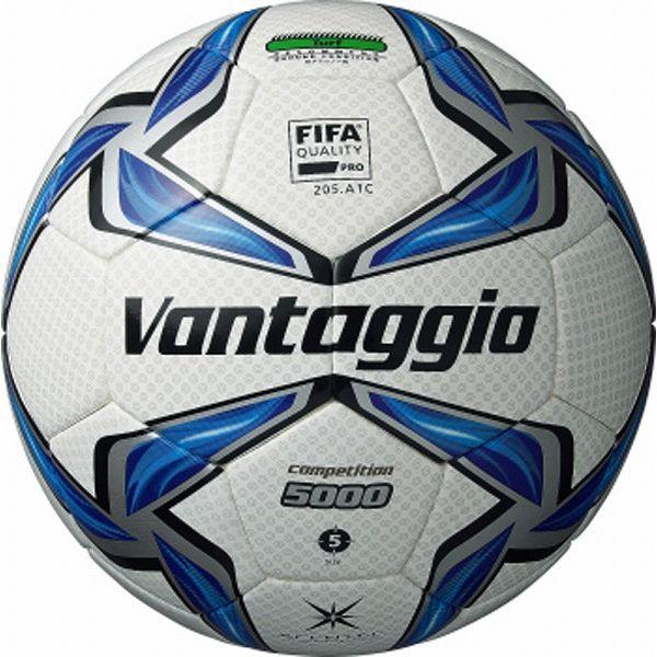モルテン(Molten) サッカーボール5号球 ヴァンタッジオ5000コンペティション ホワイト×ブルー F5V5002【送料無料】