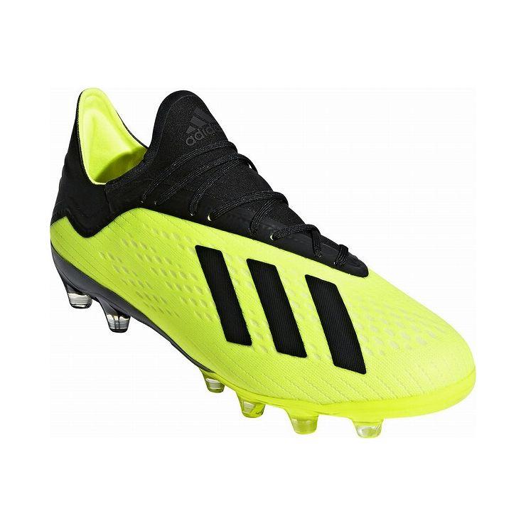 アディダス フットボールシューズ 25.5cm adidas Football エックス 18.2-ジャパン HG スパイク サッカー 土用 人工芝用 BB6952【送料無料】