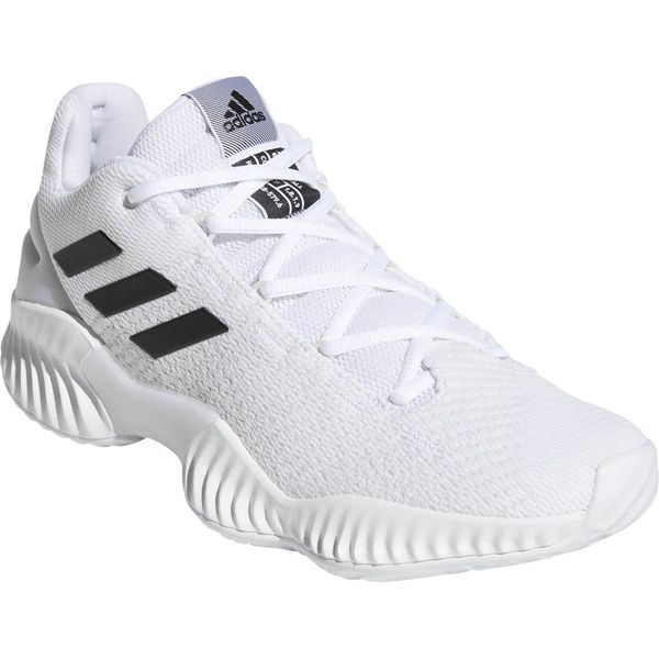 アディダス バスケット シューズ 24.0cm Basketball PRO BOUNCE 2018 LOW ホワイト×コアブラック×クリスタルホワイト BB7410【送料無料】