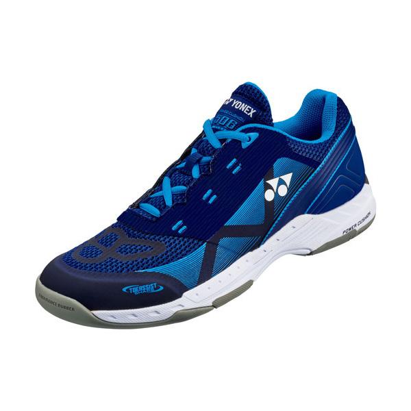 YONEX テニスシューズ POWER CUSHION 506(パワークッション506) カーペットコート用 カラー 【ブルー×ネイビー】 サイズ【23.5】【送料無料】