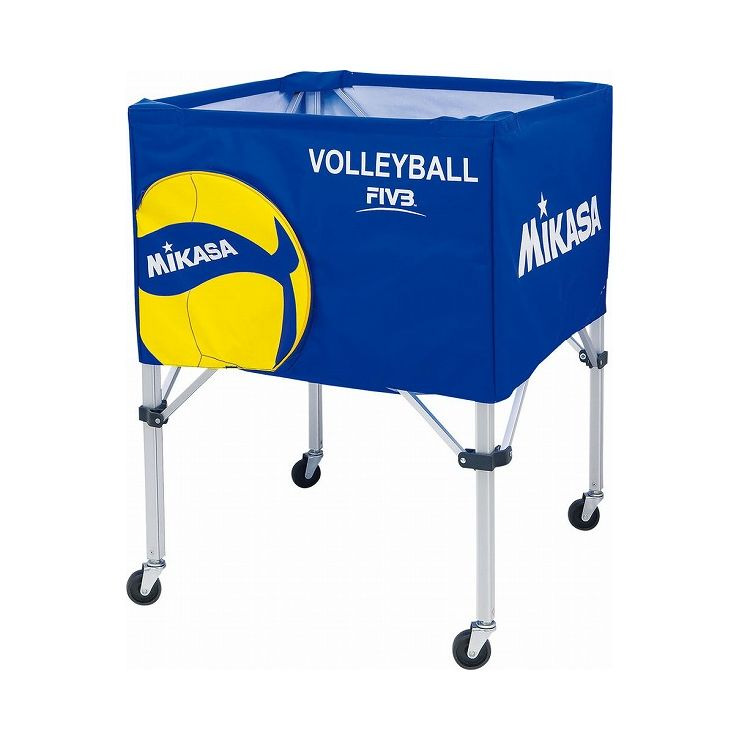 ミカサ(MIKASA) MIKASA ミカサ バレーボールアクセサリー ボールカゴ箱型 フレーム・幕体・キャリーケース3点セット BCSPSVB2【送料無料】