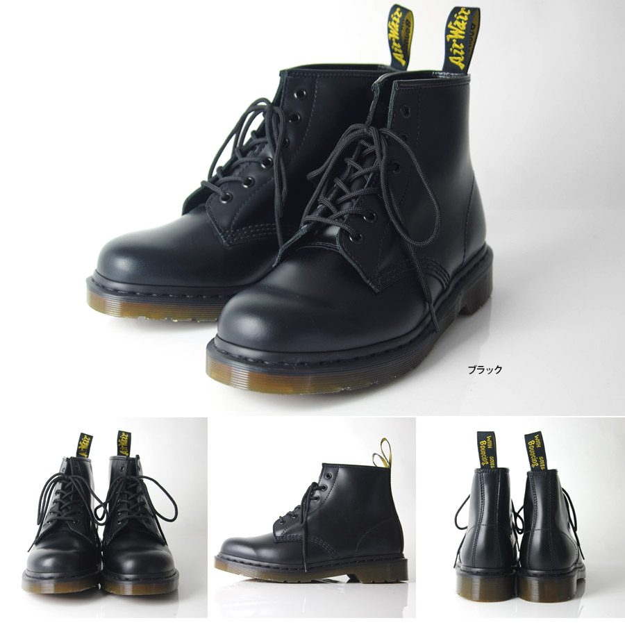 a1b74cb5a71 dr martens black smooth 6 eye boot | OFF 62% | nuovoitadd.com