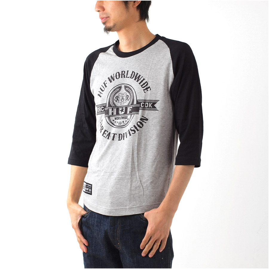 Design shirt japan - Hough Huf T Shirt Huf Japan Limited Raglan Sleeve T Shirts 7 7 Stars