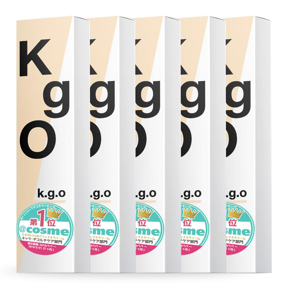 【送料無料】【5本セット K.g.O SUMAHO-AGO face cream ケージーオー スマホあご フェイスクリーム 70g スキンケア kgo ネック デコルテ フェイスマッサージ