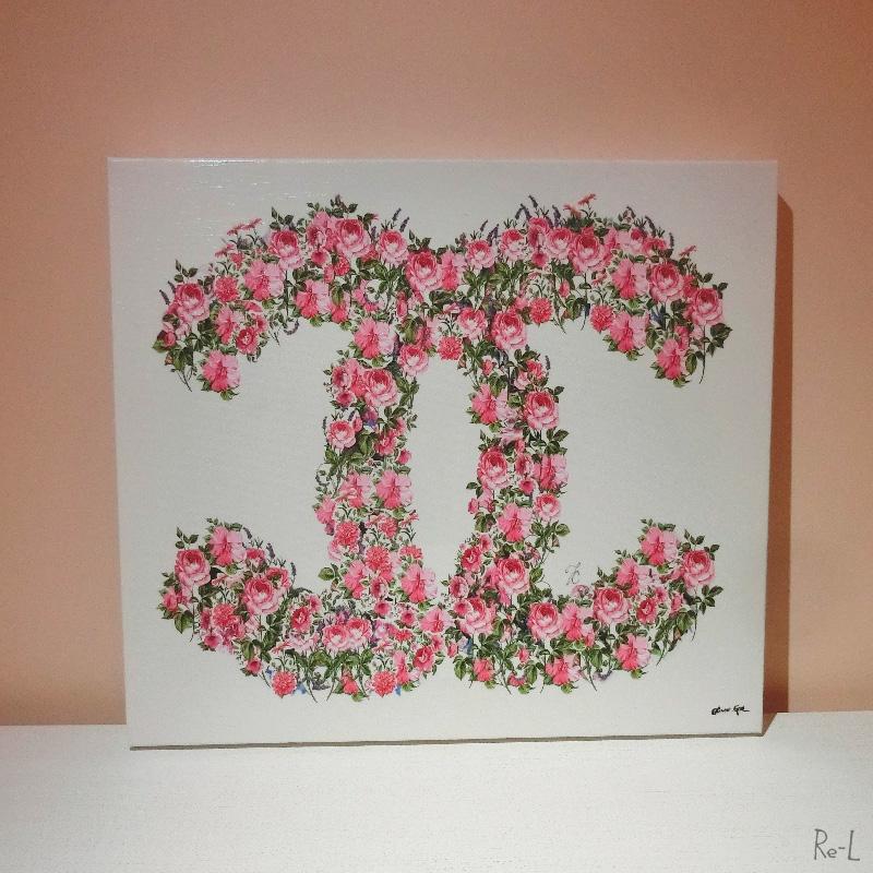 ★あす楽対応 Doll Memories-Floral Wonder 幅43.1cm×高さ50.8cm 27297Olivergal オリバーガル 壁掛け絵 絵画 アート