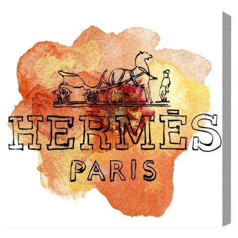 12620 ORANGE PARIS【Olivergal オリバーガル】壁掛け絵 絵画 アート 受注販売商品