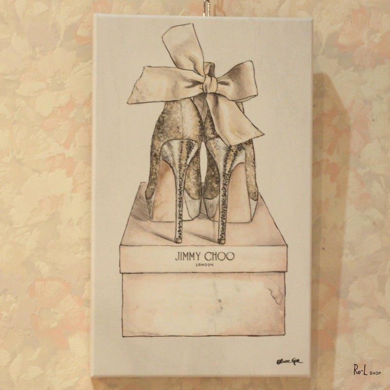 15588 My Romantic Pair【Olivergal オリバーガル】壁掛け絵 絵画 アート 25.4cm×38.1cm