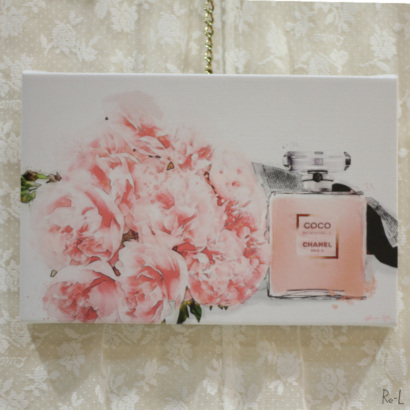★Flowers and Perfume v9Olivergal オリバーガル 壁掛け絵 絵画 アート 受注販売商品 19020