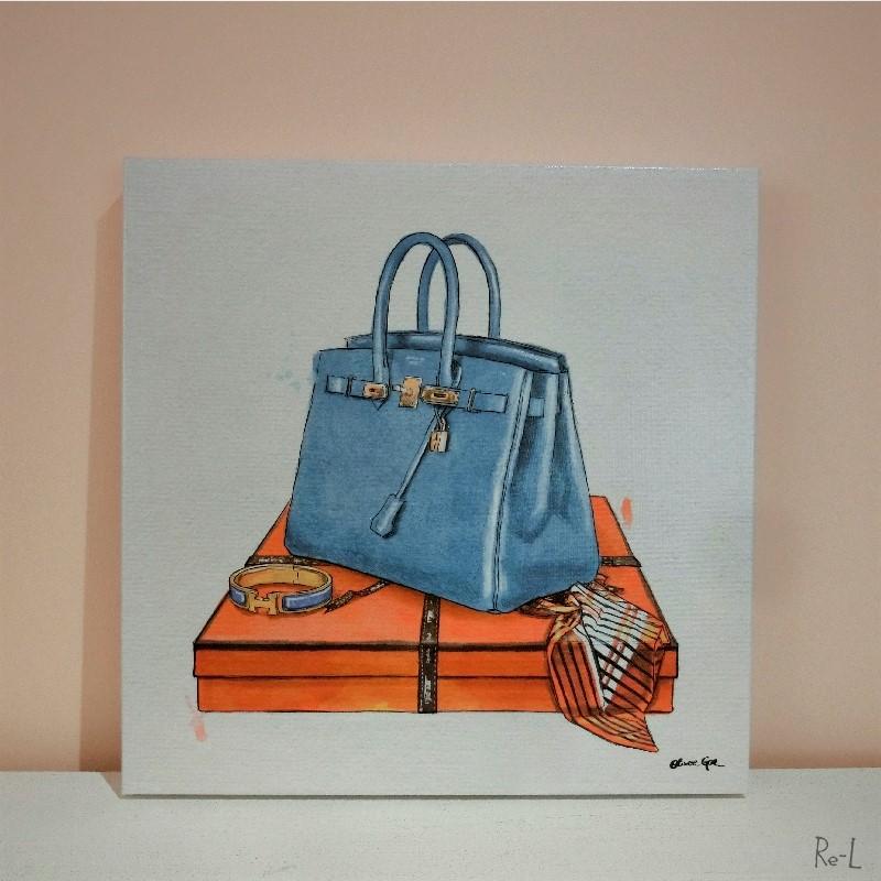 ★MY BAG COLLECTION 3 17203Olivergal オリバーガル 壁掛け絵 絵画 アート 受注販売商品