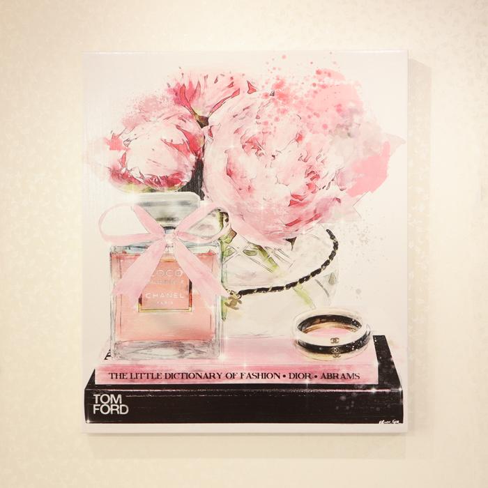 ★Elegant Perfume and Morning 20228Oliver Gal オリバーガル 壁掛け絵 絵画 アート 受注販売商品