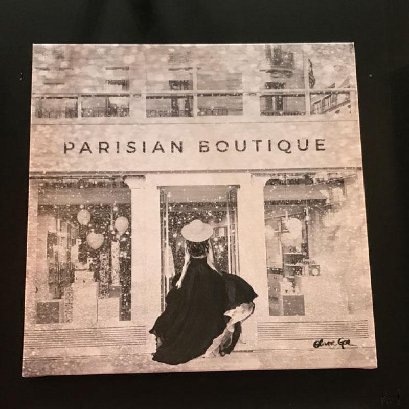 Glam Parisian Boutique【Olivergal オリバーガル】壁掛け絵 絵画 アート 受注販売商品 27664