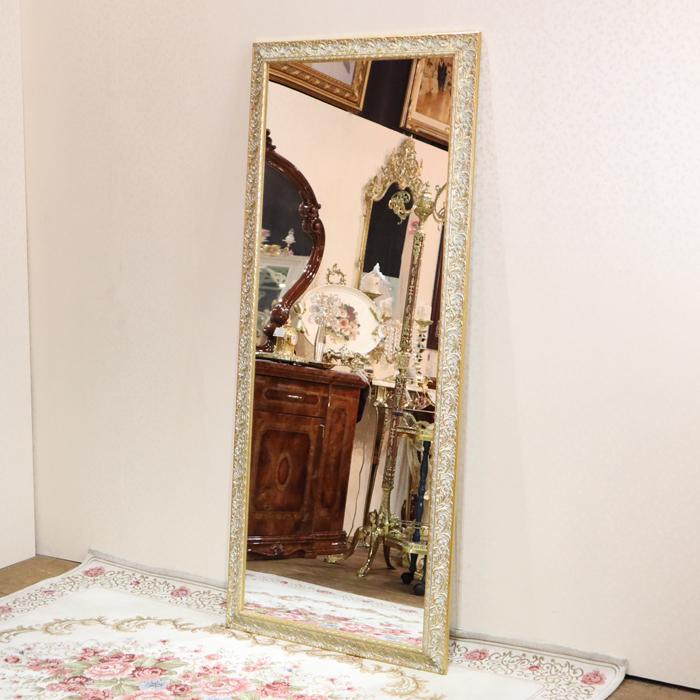 イタリア製 ウォールミラー アンティークゴールド北欧 クラシック アンティーク インテリア 玄関 全身 鏡 姿見 高級 壁 壁掛け おしゃれ 大きい プレゼント 輸入雑貨 送料無料REBCI-8123A
