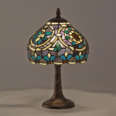 ステンドグラス テーブルランプ ライラLED対応 ガラス スタンドランプ ランプ ライト インテリア ディスプレイ クラシック アンティーク ショップ プレゼント ギフト おしゃれ かわいい 照明 卓上 姫系 北欧 送料無料RE689225