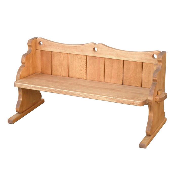 【Atelier アトリエシリーズ キッズベンチ】子供用 椅子 いす カントリー 無垢 パイン無垢材 木製 木 天然木 ナチュラル 収納 子供 ベンチ ミニ 小さめ おしゃれ かわいい レトロ アンティーク 絵本 スリム 自然RET308