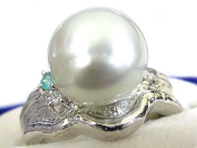 【中古】TASAKI 田崎真珠 Pt900 リング 白蝶真珠 11mm 指輪 18号 12.2g レディース 【ベクトル 古着】 200310 ベクトルイズム
