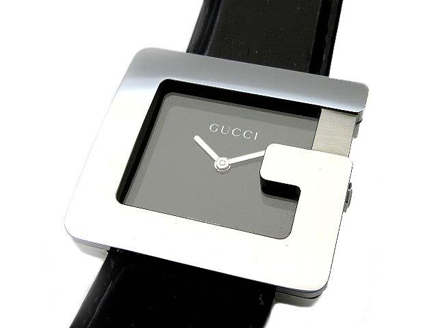 グッチ GUCCI Gフェイス Gロゴ 腕時計 3600M クォーツ 革ベルト ブラック メンズ 【中古】【ベクトル 古着】 190310 古着 買取&販売 ベクトルイズム